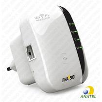 Repetidor Extensor Amplificador Wireless Wi Fi Feasso 300mbp