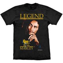 Camiseta Bob Marley Legend Stamp