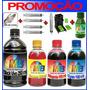 Kit De Recarga Com Snap Fill Para Impressoras Hp , Lexmark
