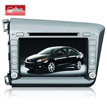 Central Multimidia Orbe Honda Civic 2012 Cam. Re Dvd Gps Tv