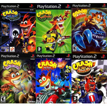 Crash 6 Jogos Coleção Ps2 Patch