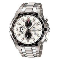 Relógio Casio Edifice Ef-539 Cronógrafo Wr100 Tachymeter Br