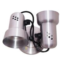 10x Spot Arandela Runas Prata P\ 2 Lâmpadas Luminária Plafon