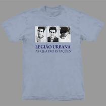 Camiseta Legião Urbana As Quatro Estações Stamp