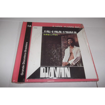 Cd Djavan - A Voz O Violão (1976) Edição Rara , Com Livro