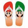 Chinelo Infantil Mario Bros E Luigi