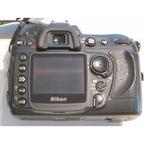 Corpo Maquina Fotografica Nikon D200 Semi-nova Avaliação8,00