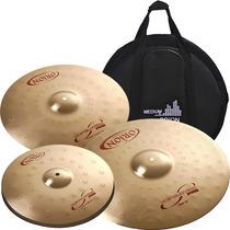 Kit Pratos Orion Revolution Pro Rp90 14 16 20 Com Bag