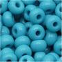 Miçangas Tchecas 6/0 Azul Turquesa Opaco (1oz)