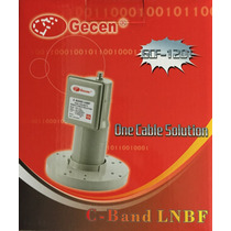 Lnbf Multiponto Gecen Banda C Analogico Digital E Hd