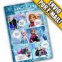 Arte Convite Frozen Gibi Aniversário Disney Criança Infantil