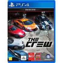 Jogo Novo Lacrado Da Ubisoft The Crew Para Playstation 4 Ps4