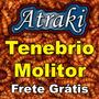 300 Larvas Vivas Tenebrio Molitor Frete Grátis