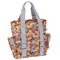 Bolsa Tote Bag Paul Frank Original Feminina Pf107 Estampada
