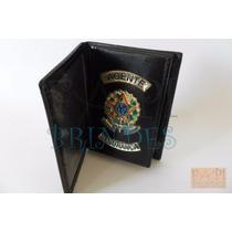 Porta Cartão Documentos Funcional Cnh Agente Segurança P10p
