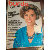 Burda Spezial - 1985 (alemã Com Suplemento Em Portguês)
