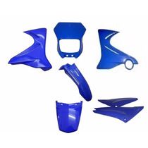 Kit Carenagem Completo Xtz 125 Azul