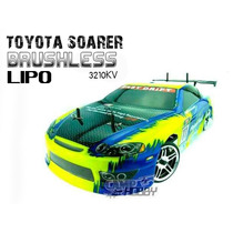 Carro Himoto Toyota Soarer Brushless 2.4ghz Bateria + Carreg