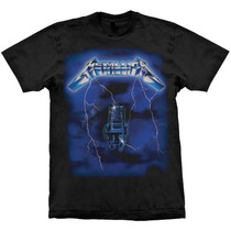 Camiseta Metallica Ride The Lightning Stamp
