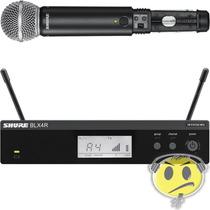 Microfone Shure Sem Fio Blx24rbr / Sm58 - Loja Kadu Som