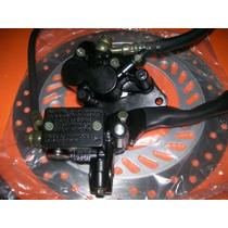 Kit Freio Disco Pinça Burrinho Flexivel Honda Twister 250