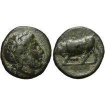 Gambrion, Mysia. Moeda Antiga Grega Grécia.