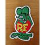 Rat Fink Ed Big Daddy Roth - Aplique Para Roupa (7,5x7cm)