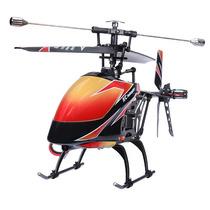 Helicoptero V912 2.4ghz 4 Canais Wltoys Seminovo Frete Free