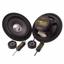 Kit 2 Vias Ks6.1 Audiophonic Ks 6.1 6 Pol 60w Rms 120w Par