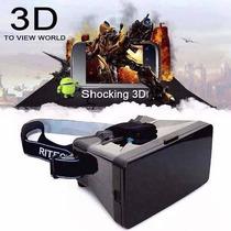 Óculos Google Cardboard Realidade Virtual 3d!