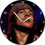 Relógio De Parede Redondo Axel Rose Guns
