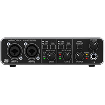 Interface De Audio Umc 202 Behringer É No Territorio Dos Djs