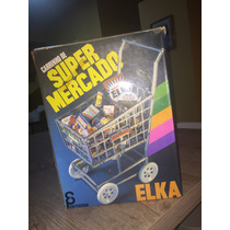 Caixa Do Antigo Carrinho Super Mercado Elka