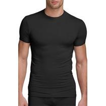 Camisa Térmica Segunda Pele Gola Redonda Manga Curta