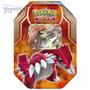 Pokémon Lata Cards Xy Groudon-ex Copag Português