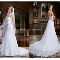 Vestido De Noiva Todo De Renda , Pronta Entrega