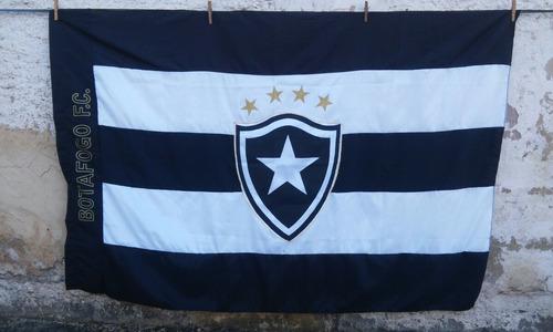 1a0962aedc2e9 Bandeira Botafogo Do Rio De Janeiro. R  120