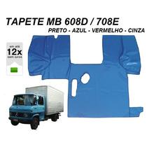 Tapete Verniz Caminhão Mb 608d / 708e Azul Preto Vermelho Cz