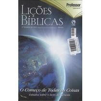 Revista Lições Bíblicas Capa Dura Adulto Professor Cpad