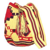Bolsa Wayuu Amarela - Colombiana