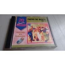 Cd - Frevo De Bloco Vol.3 20 Super Sucessos