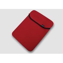 Capa Para Notebook Vermelha Neoprene Para Notebooks De Até