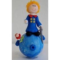 Topo De Bolo Pequeno Príncipe Biscuit 15cm