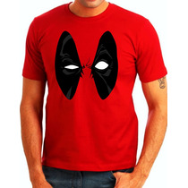Camisa Deadpool Eyes Marvel