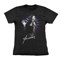 Camiseta Baby Look Feminina Janis Joplin Stamp