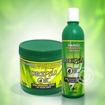 Kit Crece Pelo Boé - Shampoo 370ml + Máscara 454g + Frete!!!