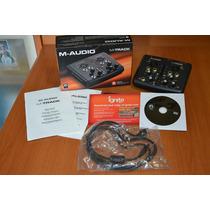 M Audio Placa Gravação M Track Ii 2x2 Interface