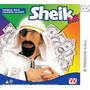 Traje Árabe - Sheik Lenço Principal Beard Remendo Extravag
