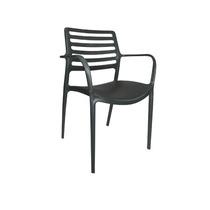 Cadeira Bar/restaurante/living Fixa Em Polipropileno Verde