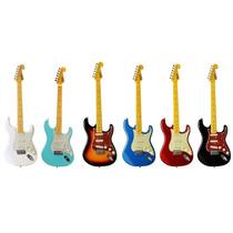Guitarra Stratocaster Tagima Tg 530 Woodstock Cores